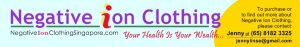 Negative Ion Clothing Singapore, Nefful Healthy Clothing with Negative Ions
